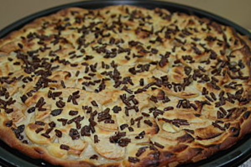 Comment faire une Pizza au chocolat ?