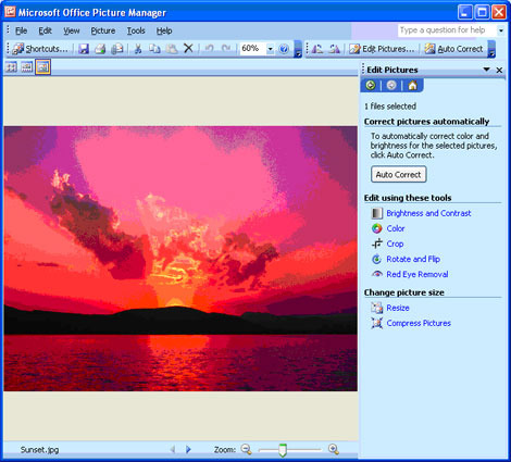 Comment renommer une image sur Microsoft Office Picture Manager ?