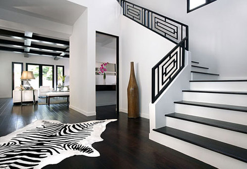 Comment adopter le noir et blanc pour votre d coration for De square design and interiors
