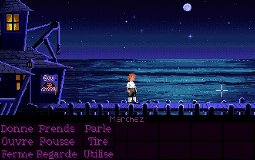 "Comment quitter l'île dans ""The Secret Of Monkey Island""?"