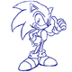 Comment dessine-t-on Sonic ?