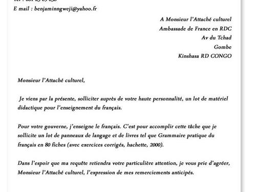 Comment Rediger Une Lettre Administrative